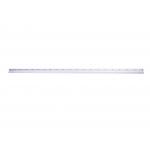 Q-Connect KF16823 - Regla metálica aluminio, 100 cm