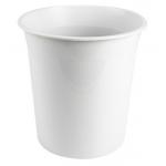 Q-Connect KF19033 - Papelera de plástico, 13 litros, color gris claro opaco