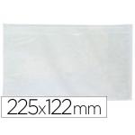 Q-Connect KF21727 - Sobre autoadhesivo portadocumentos, 225 mm x 122 mm, paquete de 100