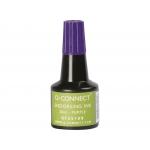 Q-Connect KF25109 - Tinta para tampón, frasco de 28 ml, color violeta