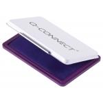 Q-Connect KF25213 - Tampón número 2, tamaño 110 x 70 mm, color violeta