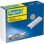 Rapid 5000561 - Grapas Omnipress 60, galvanizadas, caja de 1.000