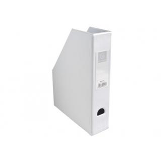 Exacompta 90157E - Revistero de PVC, color blanco