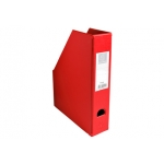 Exacompta 90155E - Revistero de PVC, color rojo
