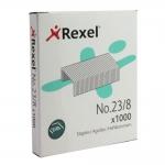 Rexel 2101054 - Grapas Nº 23/8, caja de 1.000