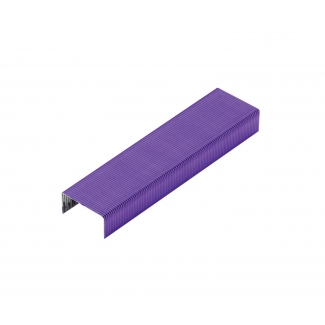Rexel 2104166 - Grapas Nº 56 26/6, color morado, caja de 2.000