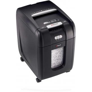 Rexel Auto+ 200X - Destructora de papel, corte en partículas, destruye hasta 7 hojas, con autoalimentación, papelera de 32 litros