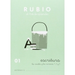 Rubio C-01 - Cuaderno de caligrafía Nº 01