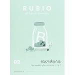 Rubio C-02 - Cuaderno de caligrafía Nº 02