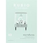 Rubio C-03 - Cuaderno de caligrafía Nº 03