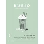 Rubio C-3 - Cuaderno de caligrafía Nº 3
