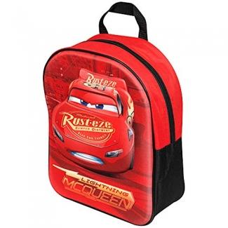 Sambro DSC8-8114 - Mochila escolar, decoración cars 3d, color rojo