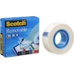 Scotch Magic 811 - Cinta adhesiva, 19 mm x 33 mt, invisible
