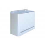 Sie 99-P - Papelera metálica de pared, 11 litros, color plata