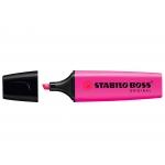 Stabilo Boss 70/58 - Rotulador fluorescente, punta biselada, color magenta