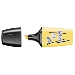 Stabilo Boss Mini 07/144-7 - Rotulador fluorescente, edición Pastel Love, punta biselada, color amarillo cremoso