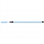 Stabilo Pen 68/11 - Rotulador acuarelable, punta redonda de 1 mm, color azul claro