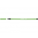 Stabilo Pen 68/13 - Rotulador acuarelable, punta redonda de 1 mm, color verde hielo