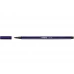 Stabilo Pen 68/22 - Rotulador acuarelable, punta redonda de 1 mm, color azul prusia