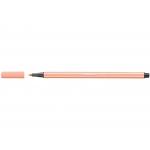 Stabilo Pen 68/26 - Rotulador acuarelable, punta redonda de 1 mm, color carne claro
