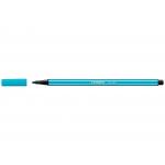 Stabilo Pen 68/31 - Rotulador acuarelable, punta redonda de 1 mm, color azul cobalto