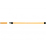 Stabilo Pen 68/44 - Rotulador acuarelable, punta redonda de 1 mm, color amarillo