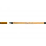 Stabilo Pen 68/45 - Rotulador acuarelable, punta redonda de 1 mm, color marrón