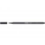 Stabilo Pen 68/46 - Rotulador acuarelable, punta redonda de 1 mm, color negro