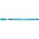 Stabilo Pen 68/51 - Rotulador acuarelable, punta redonda de 1 mm, color turquesa