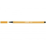 Stabilo Pen 68/54 - Rotulador acuarelable, punta redonda de 1 mm, color naranja