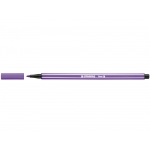 Stabilo Pen 68/55 - Rotulador acuarelable, punta redonda de 1 mm, color violeta