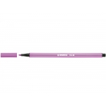 Stabilo Pen 68/58 - Rotulador acuarelable, punta redonda de 1 mm, color lila