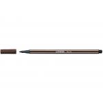 Stabilo Pen 68/65 - Rotulador acuarelable, punta redonda de 1 mm, color sombra