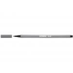 Stabilo Pen 68/96 - Rotulador acuarelable, punta redonda de 1 mm, color gris azulado medio