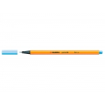 Stabilo Point 88/11 - Rotulador punta de fibra, punta redonda de 0,4 mm, color azul claro