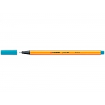 Stabilo Point 88/31 - Rotulador punta de fibra, punta redonda de 0,4 mm, color azul cobalto