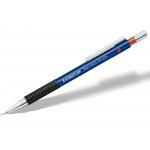 Staedtler 77507T - Portaminas 0,7 mm, sujeción de caucho, retráctil