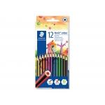 Staedtler Noris Colour 185 C12 - Lápices de colores, caja de 12 colores