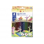 Staedtler Noris Colour 185 C18 - Lápices de colores, caja de 18 colores