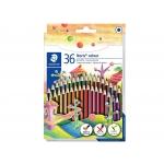 Staedtler Noris Colour 185 CD36 - Lápices de colores, caja de 36 colores