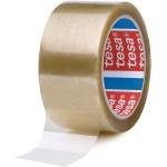 Tesa 04089-00001-06 - Cinta adhesiva para embalar, 50 mm x 66 mt, polipropileno, transparente