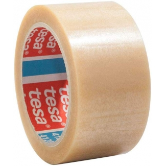 Pregunta sobre Tesa 04120-00008-00 - Cinta adhesiva para embalar, 50 mm x 66 mt, pvc, transparente