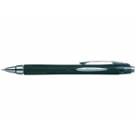 Uni-Ball JetStream SXN-210 - Bolígrafo de tinta de gel, punta redonda de 1 mm, retráctil, color negro