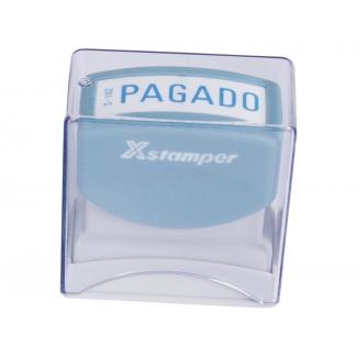 X-stamper - Sello automático, texto impreso (pagado)