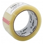 Bismark 320374 - Cinta adhesiva para embalar, 50 mm x 66 mt, polipropileno, transparente